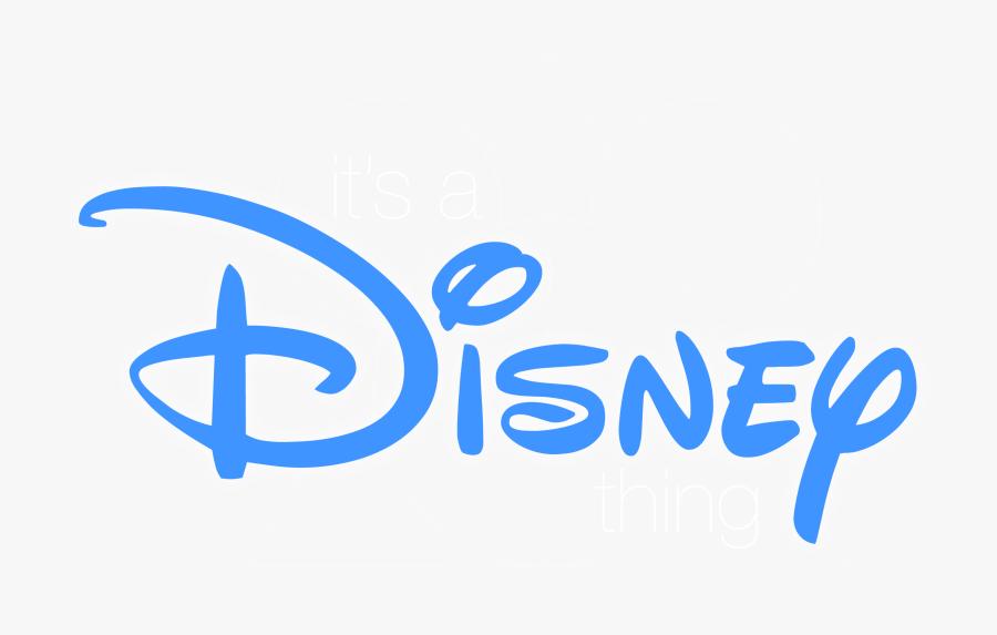 Disney World Clipart - Blue Disney Logo Png, Transparent Clipart