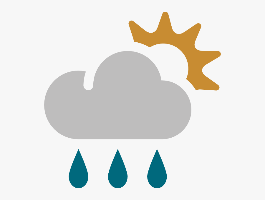 Showers - Weather Img, Transparent Clipart
