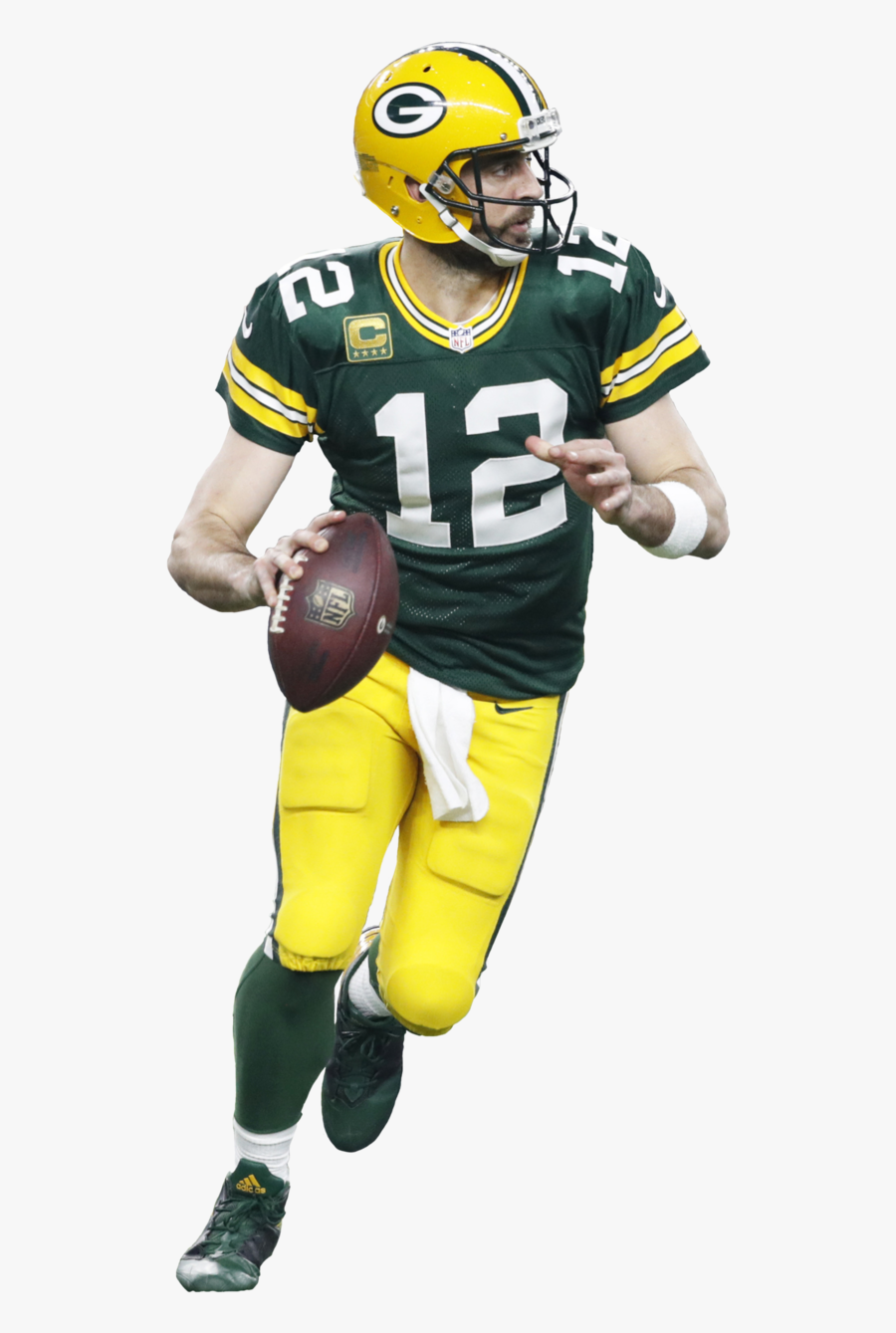 Green Bay Packers Png Transparent Aaron Rodgers Png Free Transparent Clipart Clipartkey