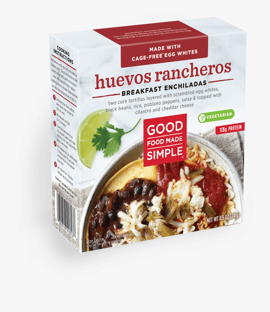 Transparent Enchilada Png - Good Food Made Simple Breakfast Enchilada, Transparent Clipart