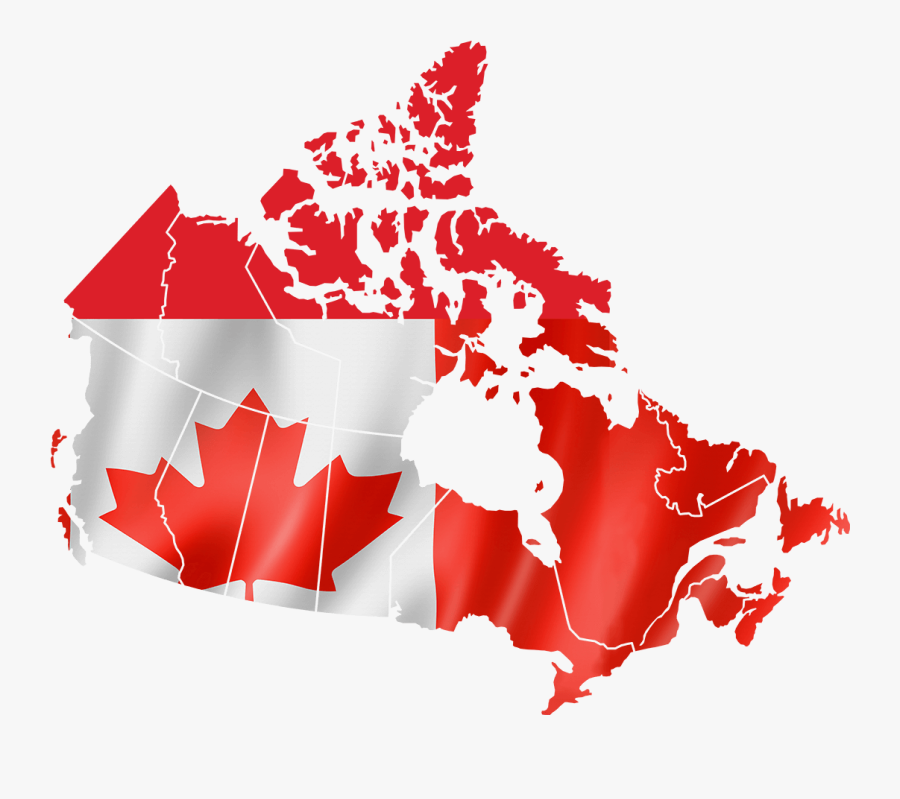 Map Of Canada Clipart Map Of Canada Silhouette , Free Transparent Clipart   ClipartKey
