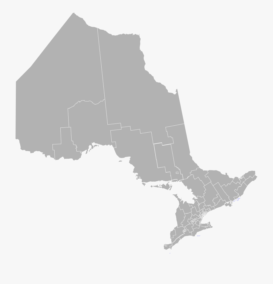 Ontario Map Png & Free Ontario Map Transparent Images - Regions Of Ontario, Transparent Clipart