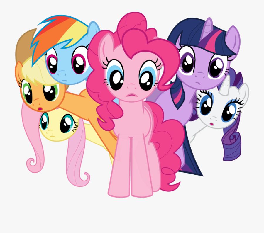 Rarity Twilight Sparkle Rainbow Dash Pinkie Pie Fluttershy - Rainbow Dash Pinkie Pie Little Pony, Transparent Clipart