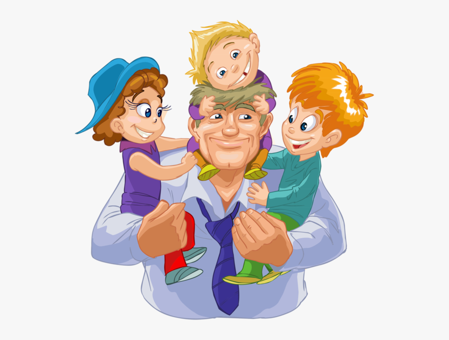 Personnages Illustration Individu Personne - Fathers Day In India, Transparent Clipart