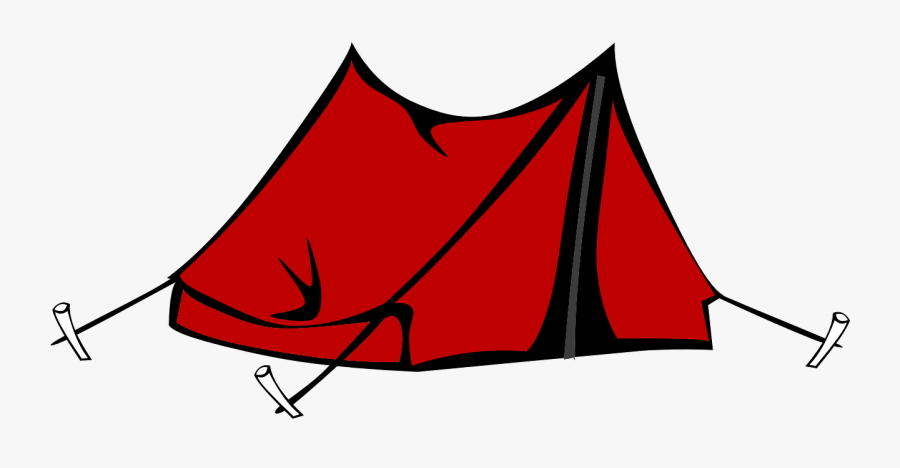 Gear Clipart Camping - Transparent Tent Clipart, Transparent Clipart