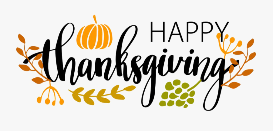 Thanksgiving Day Transparent Images Png - Happy Thanksgiving , Free  Transparent Clipart - ClipartKey