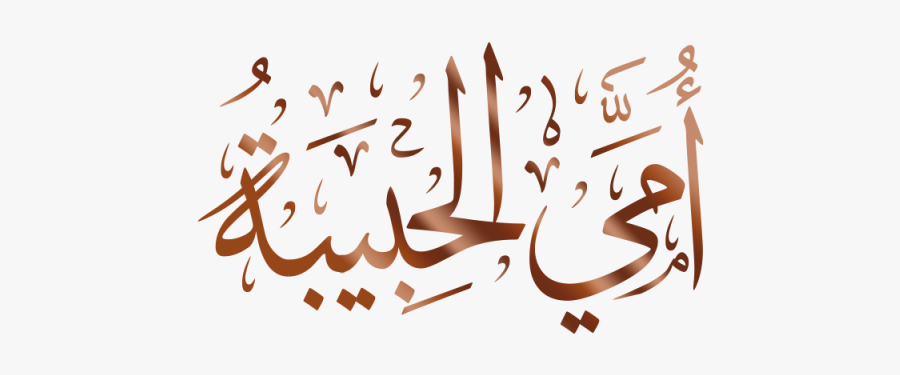 Line Vector Calligraphy - Arabic Calligraphy Png, Transparent Clipart