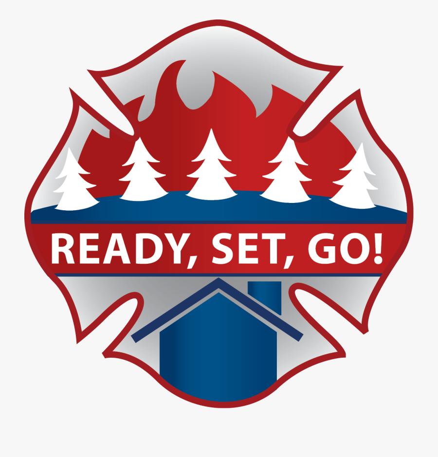 Transparent Smokey The Bear Png - Ready Set Go Fire Logo, Transparent Clipart