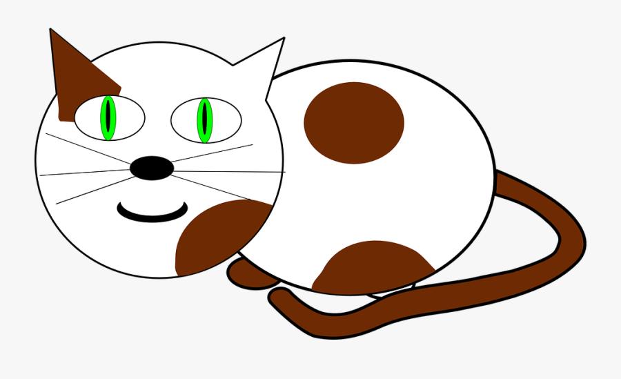 Transparent Cat Meow Png - Animated Cat Clipart, Transparent Clipart
