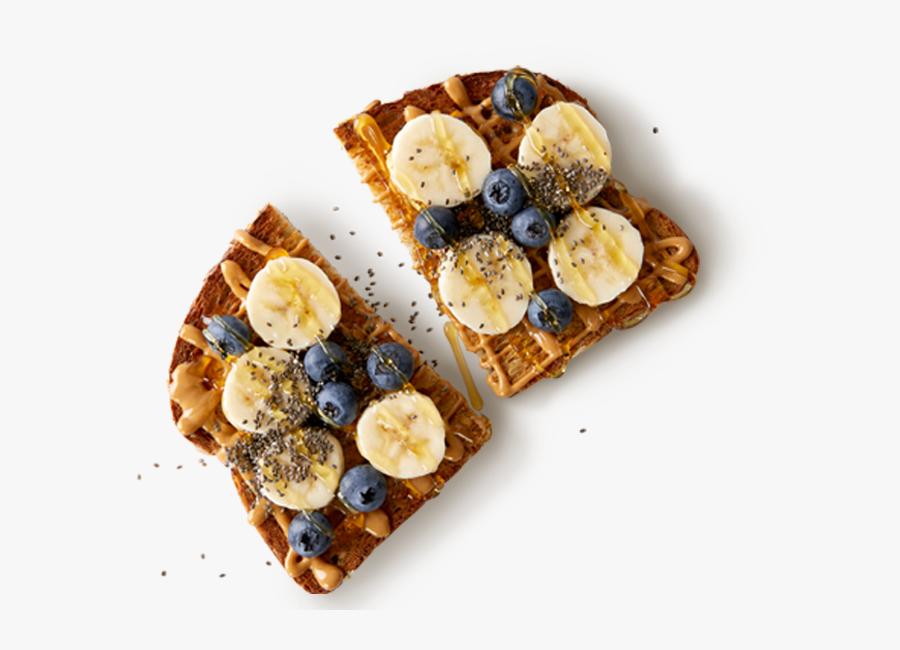 Pb Banana Toast - Jamba Juice Banana Toast, Transparent Clipart