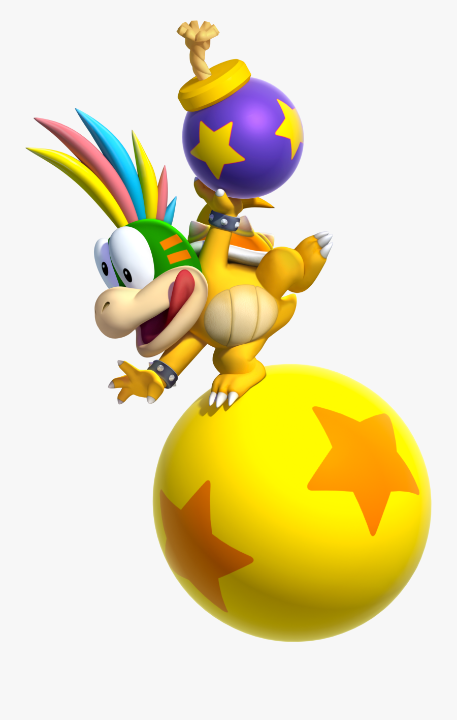 Mario Clipart Printable Lemmy Koopa Png Free Transparent