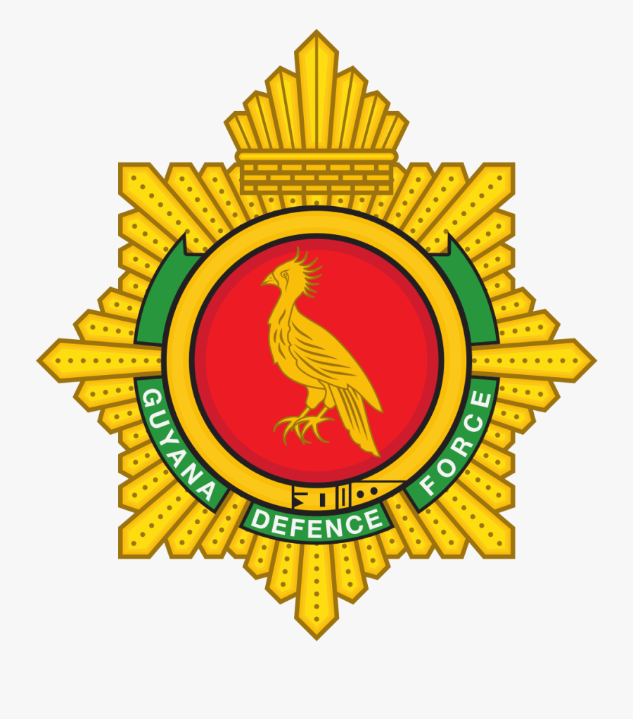 Guyana Defence Force Clipart , Png Download - Guyana Defence Force Emblem, Transparent Clipart
