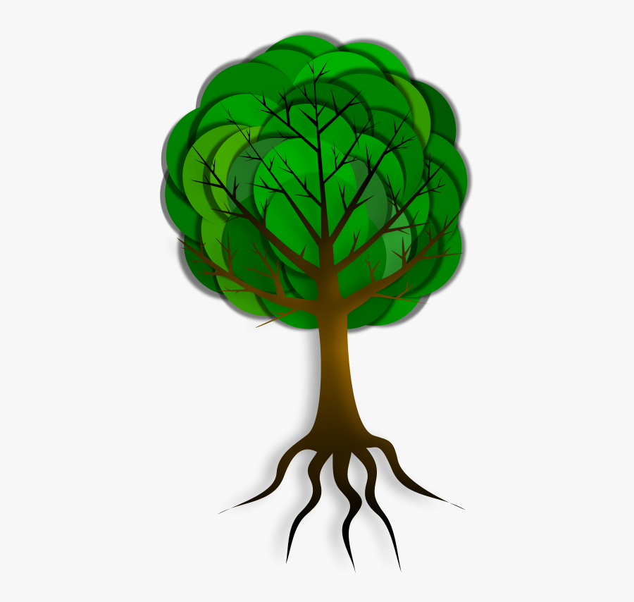 Simple Tree 2 Clip Art - Corruption Free India Drawing, Transparent Clipart