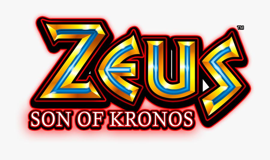 Zeus Son Of Kronos Slot Machine Free Transparent Clipart