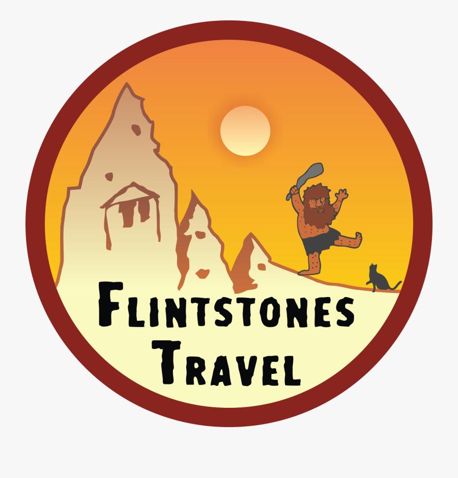 Flintstones Travel Agency Cappadocia, Transparent Clipart