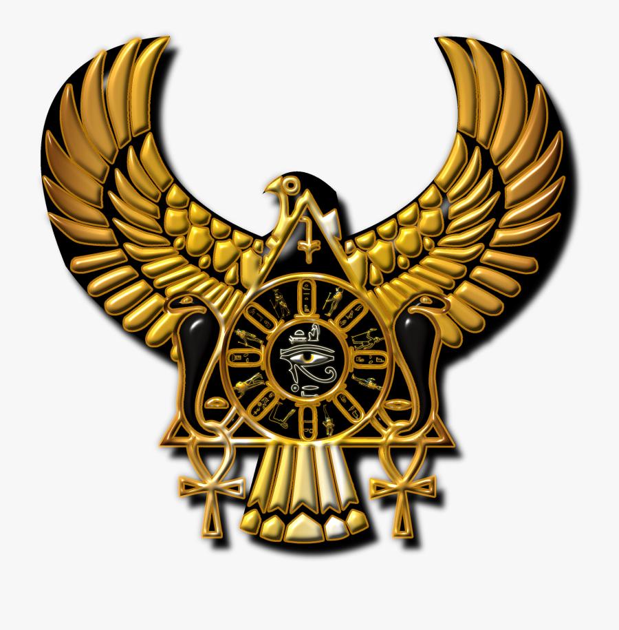 Egypt Clipart Egyptian Artifact - Golden Eye Of Horus Png, Transparent Clipart