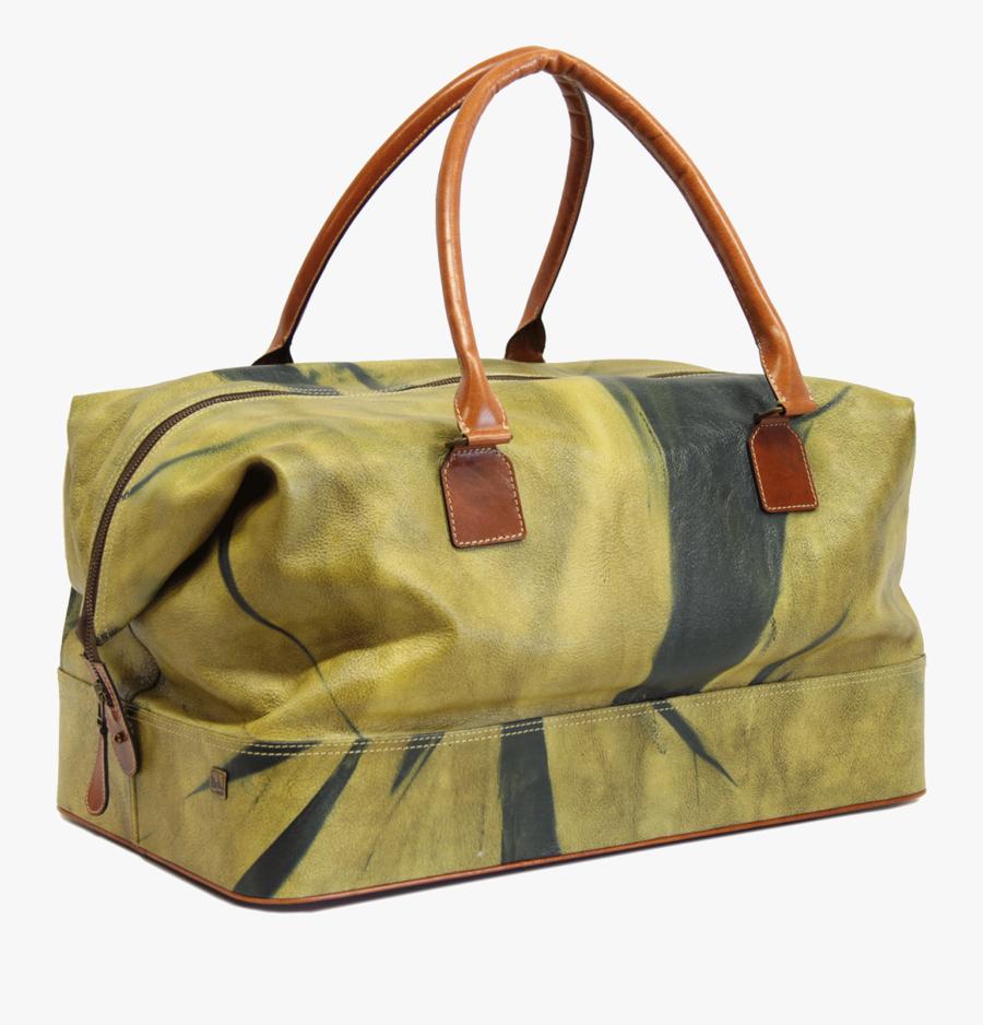 Shoulder Tote Leather Poster Yellow Bag Backgammon - Medical Bag, Transparent Clipart