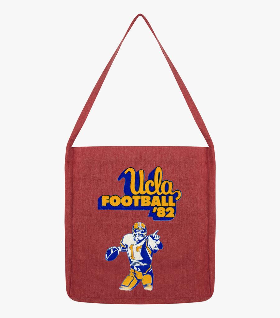 Load Image Into Gallery Viewer, 1982 Ucla Bruins Football - Shoulder Bag, Transparent Clipart