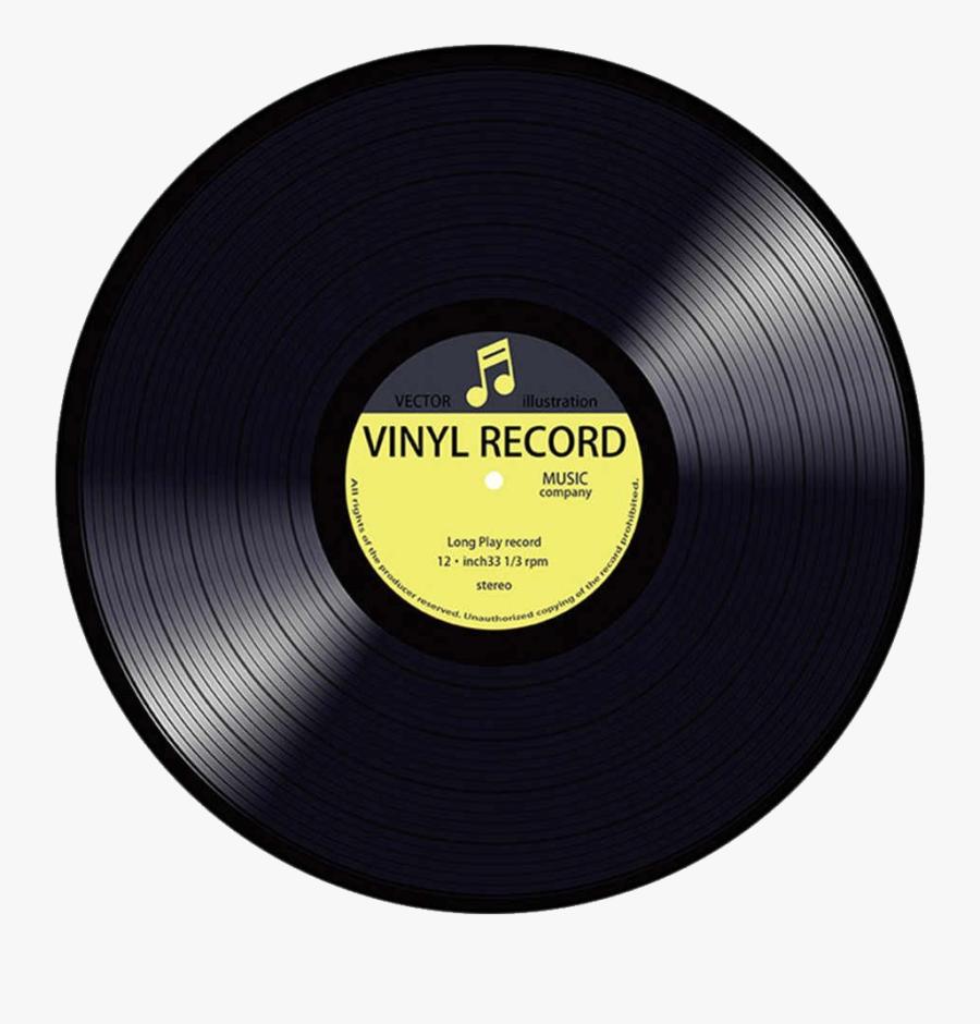 Vinyl Record Png - Platte Musik, Transparent Clipart