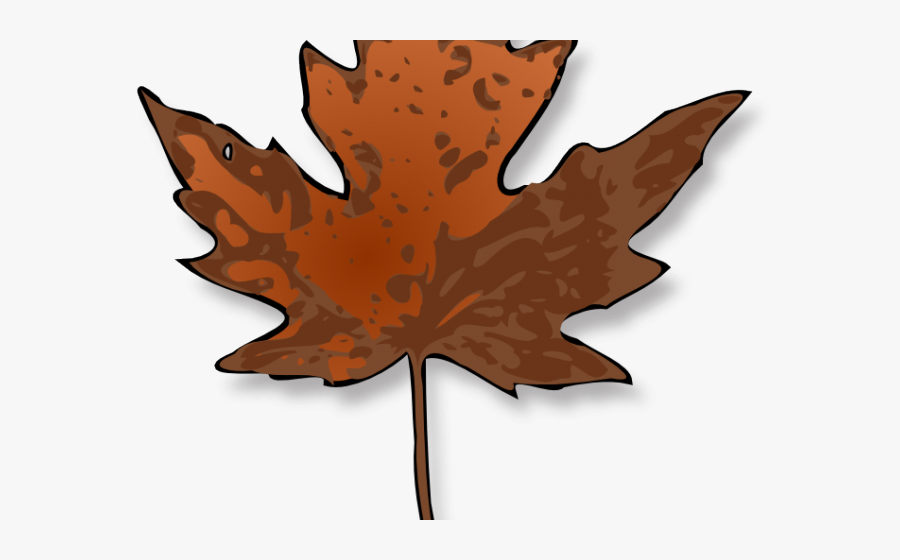 Autumn Leaves Clipart Dead Leaf - Maple Leaf Svg Free, Transparent Clipart