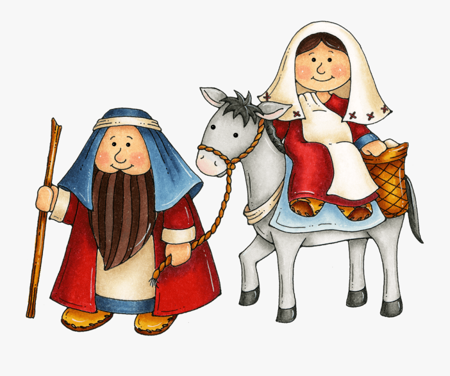 Jesus - Mary And Joseph Clipart, Transparent Clipart