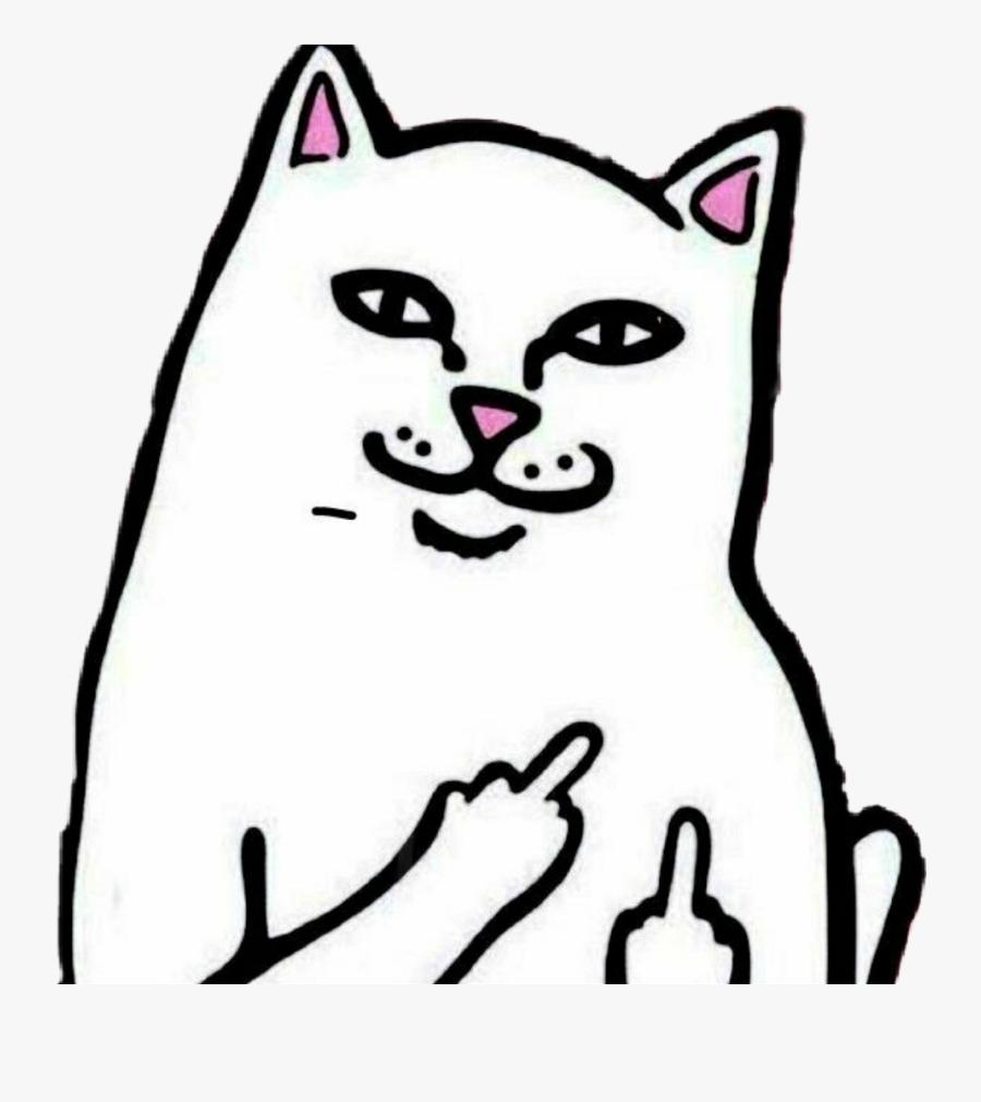 Cat Clipart Ripndip Gambar Kucing Jari Tengah Free
