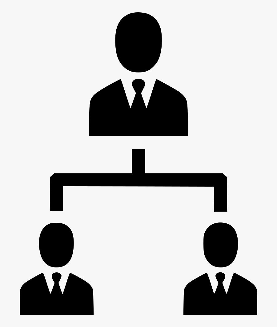 Clip Art Hierarchy Clipart - Icon Organisation Hierarchy, Transparent Clipart