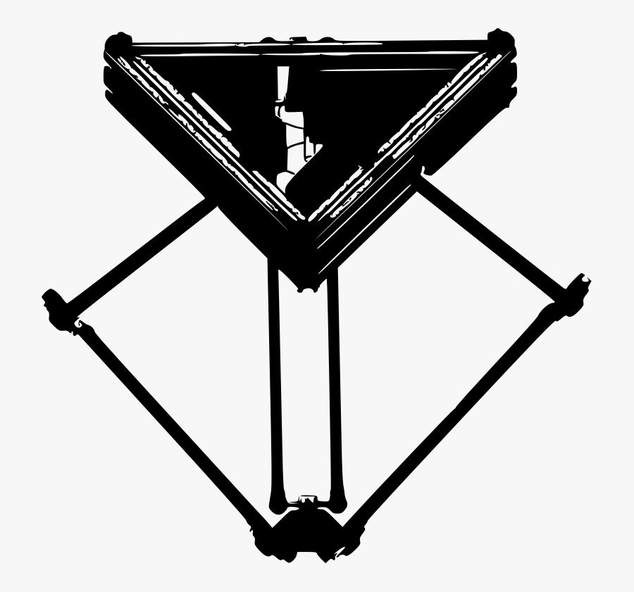 Photography - Delta Robotic Arm Icon, Transparent Clipart