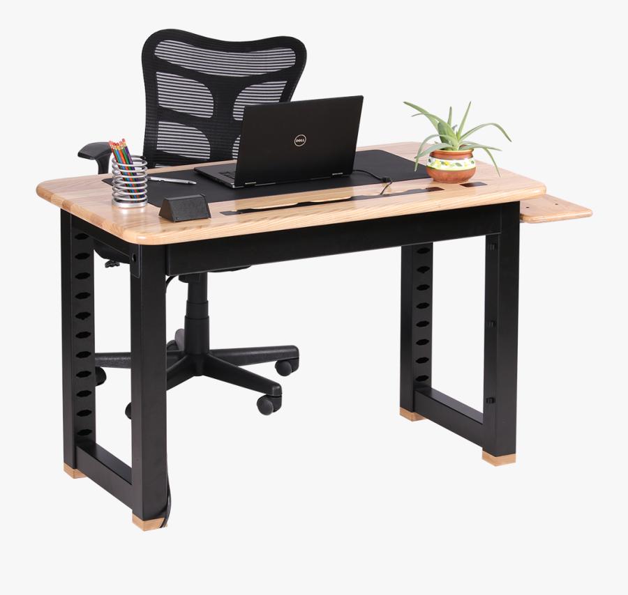 Loft Computer Desk, Ash Caretta Workspace - Work Desk Transparent, Transparent Clipart