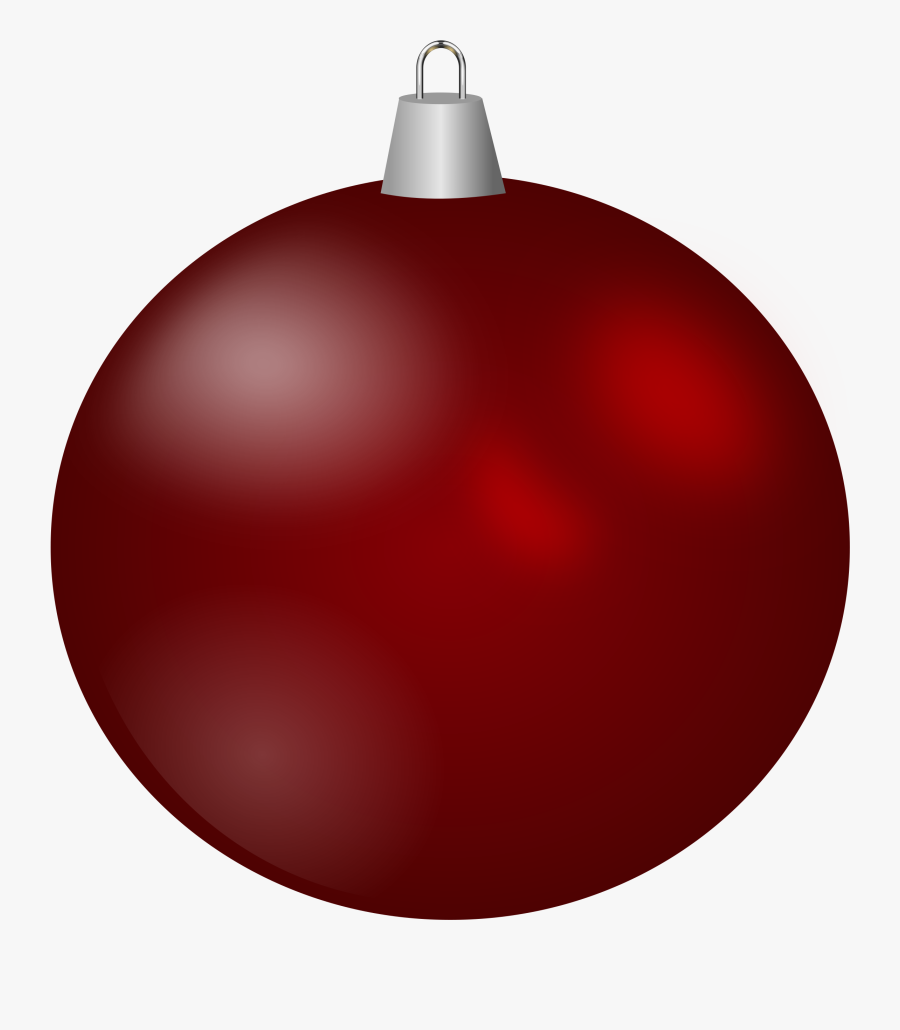 Clipart Christmas Basketball - Christmas Tree Ornament Transparent Background, Transparent Clipart