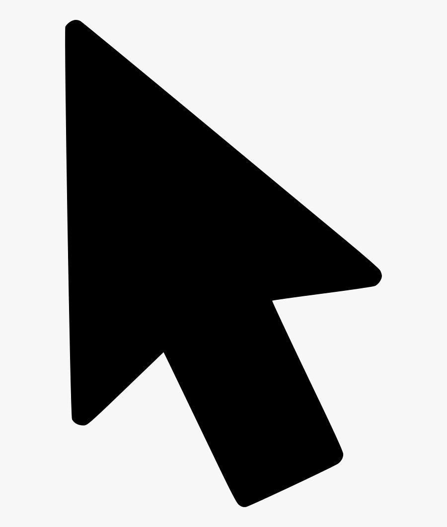 Arrow Cursor Mouse Navigation - Cursor Mouse Icon Png, Transparent Clipart