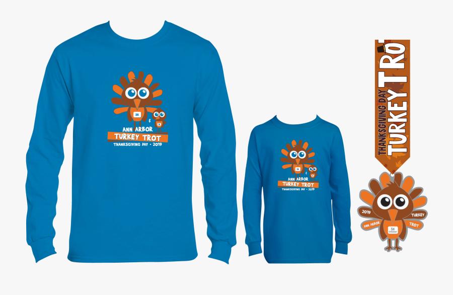 Turkey Trot Shirt N Shit - Detroit Turkey Trot 2019 Shirt, Transparent Clipart