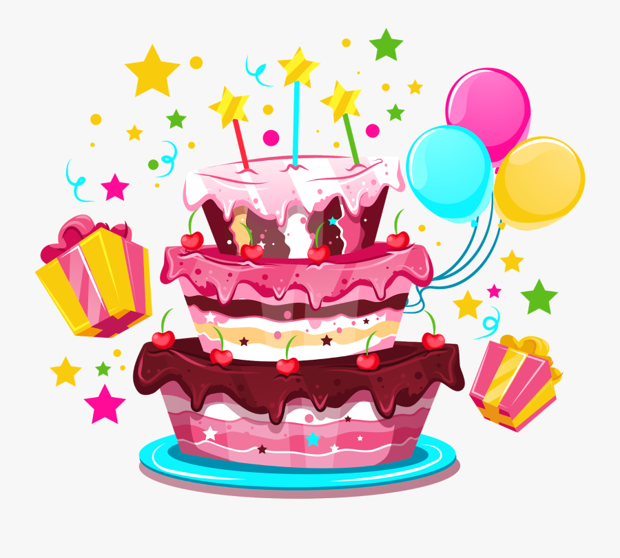 Admirable Birthday Cake Happy Birthday To You Party Transparent Background Funny Birthday Cards Online Alyptdamsfinfo