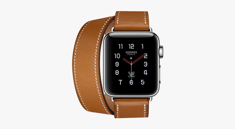 Clip Art Hermes Watch Face - Apple Watch 3 Hermes, Transparent Clipart