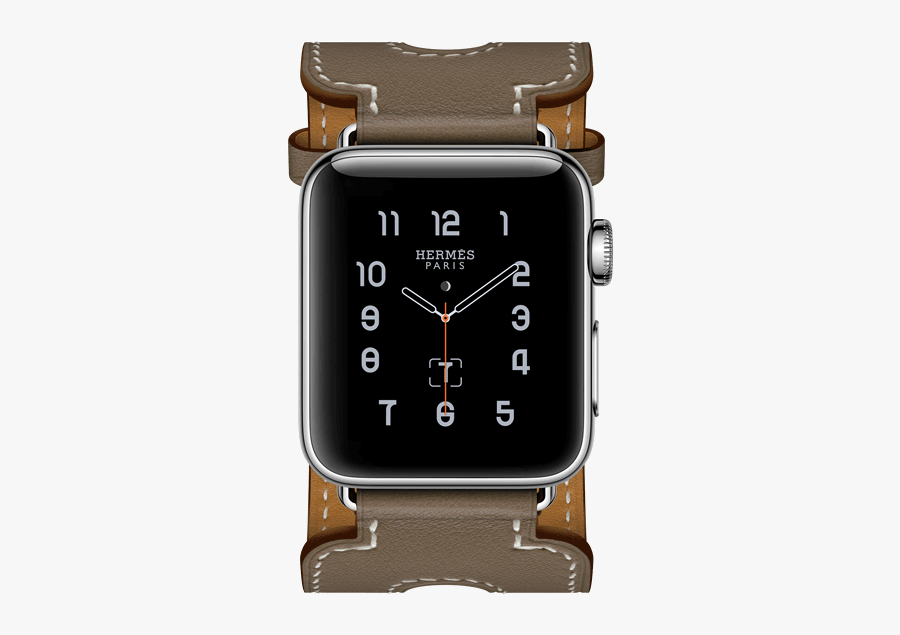 Clip Art Apple Hermes Watch Face - Apple Watch Series 2 Hermes, Transparent Clipart
