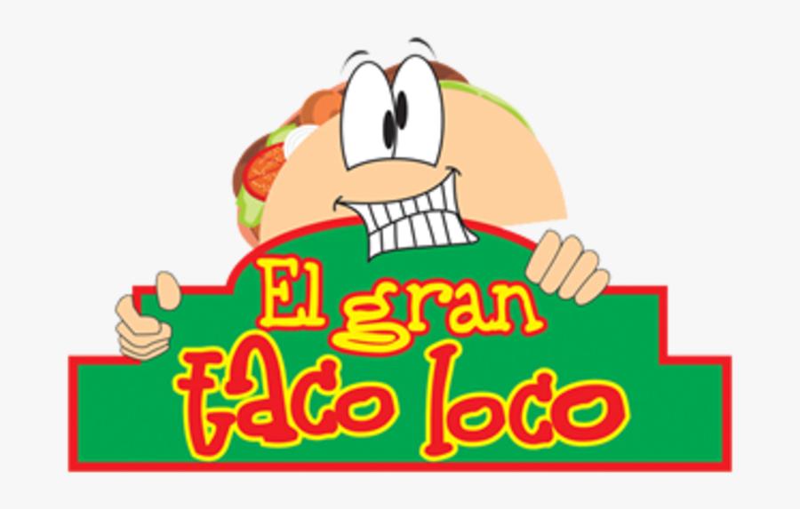 Nacho Clipart Cheese Steak - El Gran Taco Loco, Transparent Clipart