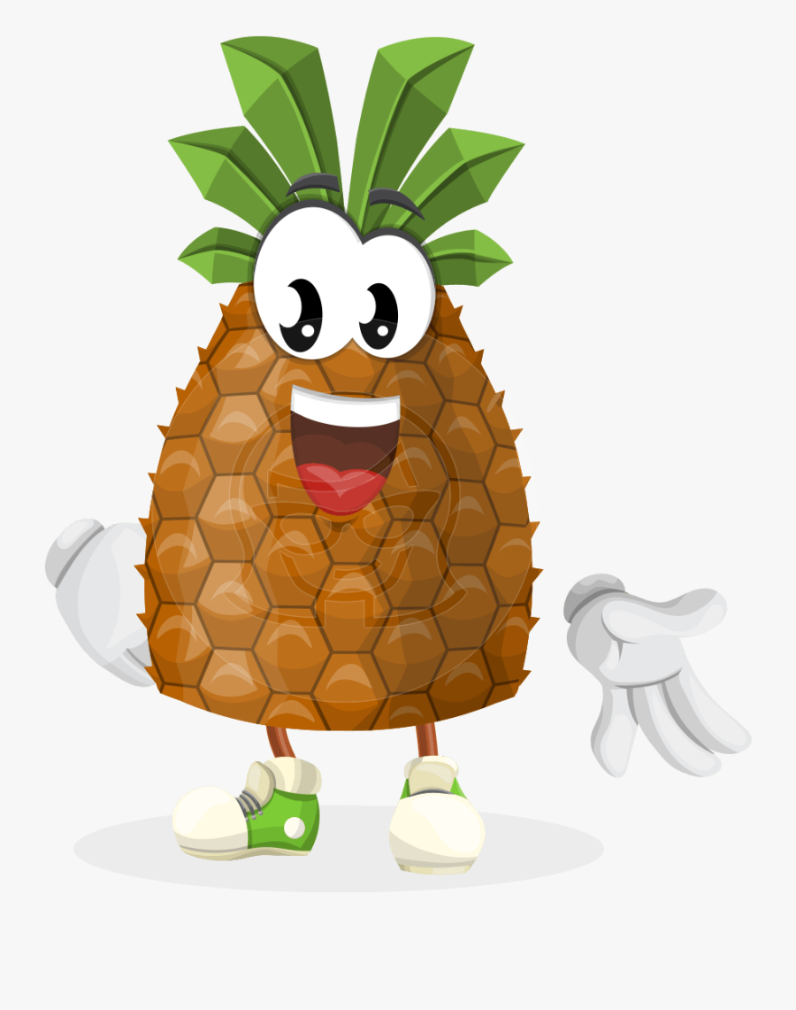 Fruit Character Mr Juicy - Fruit Cartoon Characters Png, Transparent Clipart