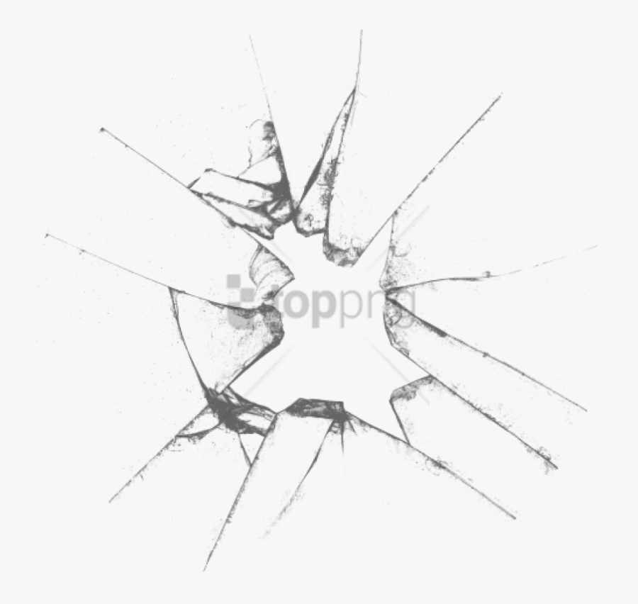 Transparent Broken Ground Clipart - Transparent Background Broken Glass, Transparent Clipart