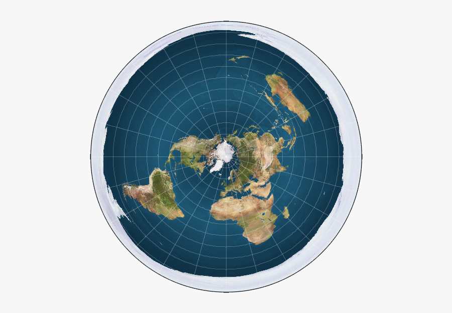 Planet Earth Clipart Earth Word - Circle Map Of Earth, Transparent Clipart