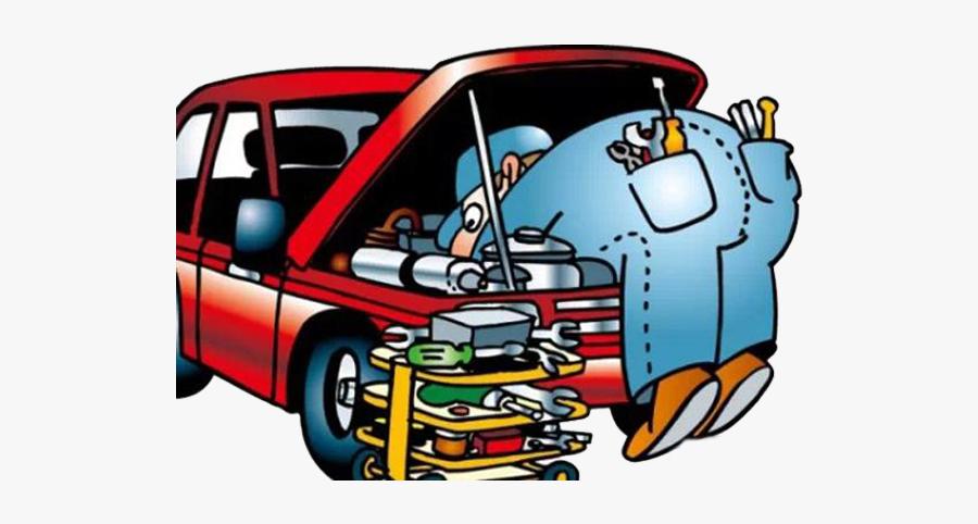 Car Automobile Shop Remont - Clipart Car Repair, Transparent Clipart