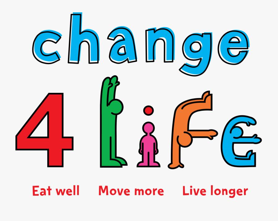 Change 4 Life, Transparent Clipart