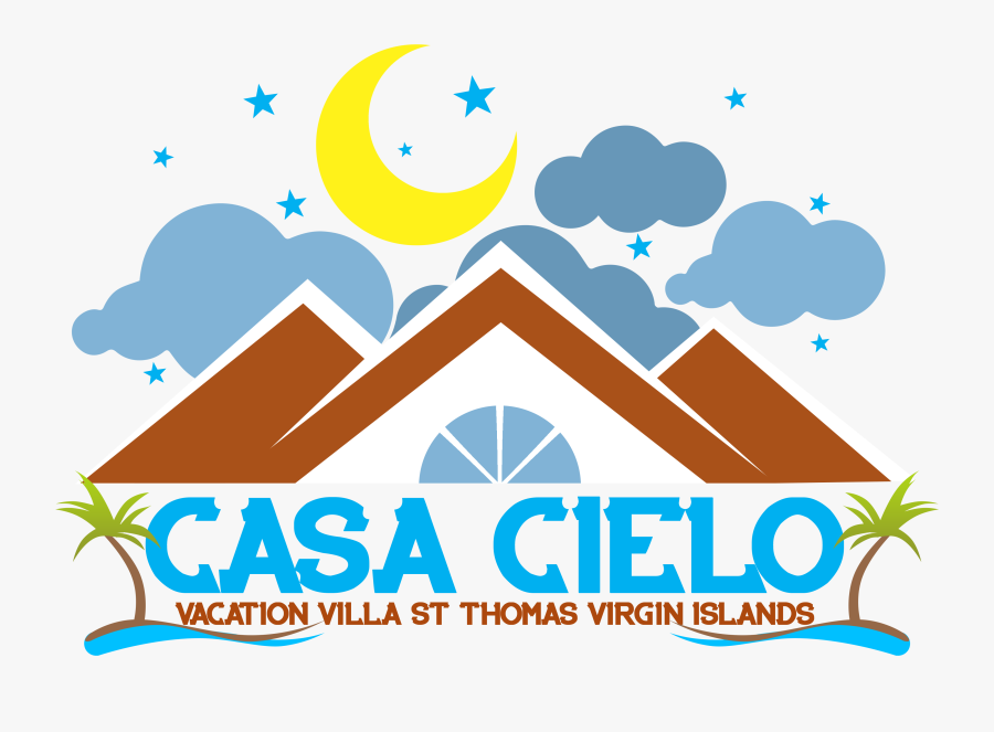 Private Hotel Lodging At Mountain Top St Thomas Virgin - Logo Of Lodging House, Transparent Clipart