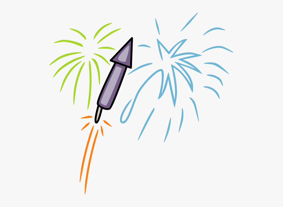 This Esl New Year Reading Page Has A Comprehension - Happy New Year Rocket, Transparent Clipart