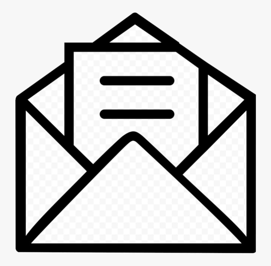 Envelope Clipart Reference Letter Transparent Png - Envelope Icon Transparent Background, Transparent Clipart