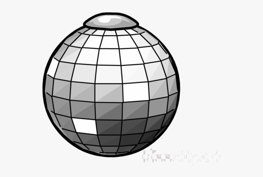 Disco Ball Club Penguin Clipart Balls Nightclub Transparent - Disco Ball Png, Transparent Clipart