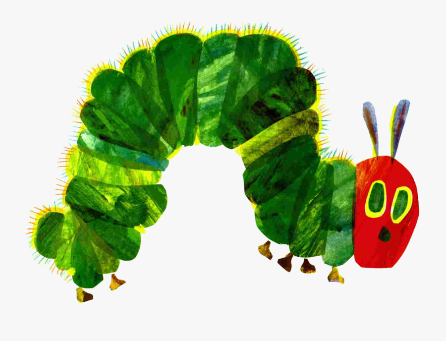 Free Very Hungry Caterpillar Butterfly Template - Very Hungry Caterpillar Book Covers, Transparent Clipart