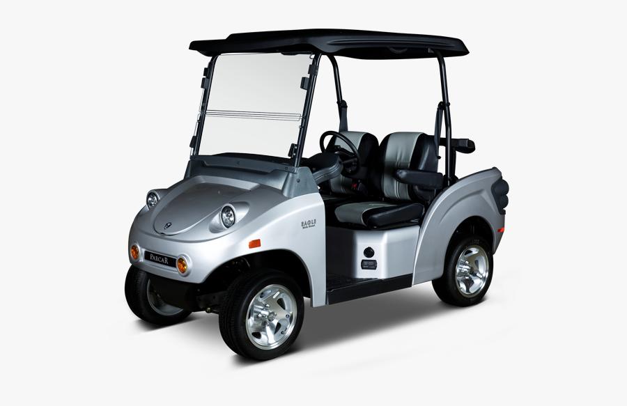 Electric Vehicle Car Golf Buggies E Z Go - Car, Transparent Clipart