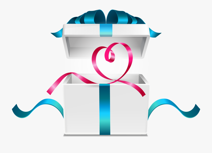 Open Gift Box Vector Png Free Transparent Clipart Clipartkey