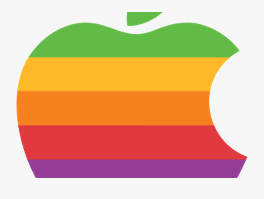 Apple Logo Rainbow Png Clipart , Png Download - Apple And Android Friends, Transparent Clipart