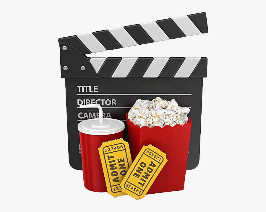 Cinema Stock Photography Getty Images Film - Cartoon Film And Popcorn, Transparent Clipart